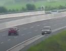 Phạt 7,5 triệu đồng, tước bằng lái 5 tháng tài xế đi ngược chiều trên cao tốc