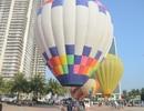 Biển Đà Nẵng rực rỡ sắc màu khinh khí cầu