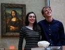 Cặp đôi hẹn hò trước nàng Mona Lisa, ăn tối trước thần Vệ Nữ
