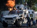 Xe bọc thép Trung Quốc sản xuất xuất hiện trong cuộc bạo động tại Venezuela