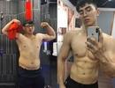 """9x hóa """"soái ca sáu múi"""" khi trút bỏ 20kg cân nặng trong 8 tháng"""
