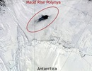 Phát hiện lỗ hổng bí ẩn ở Nam Cực