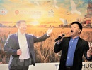 'Cánh đồng Nga' - Album đầu tay của ca sỹ Việt say đắm vẻ đẹp nước Nga