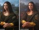 Hậu duệ nàng Mona Lisa tái hiện siêu phẩm hội họa