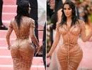 Kim Kardashian thừa nhận không thể ngồi vì váy bó sát