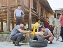CUBIC Architects mang sân chơi về cho trẻ em nghèo vùng sâu