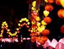 Hoa đăng lung linh trên kênh Nhiêu Lộc chào đón lễ Phật đản