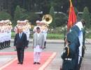 Thủ tướng Nguyễn Xuân Phúc đón người đồng cấp Nepal thăm chính thức Việt Nam