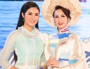 Hoa hậu Paris Vũ hội ngộ hoa hậu Ngọc Hân ở Festival Biển Nha Trang