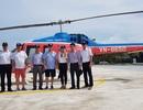 Chủ tịch và Tổng thư ký CLB Vịnh đẹp nhất thế giới trải nghiệm Halong Heli Tours