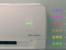 Điều hoà tự đo mức độ ô nhiễm và lọc sạch không khí ô nhiễm trong phòng