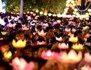 Hàng nghìn người Sài Gòn thả đèn hoa đăng trong dịp lễ Phật đản