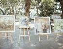 Trưng bày 38 bức vẽ Bác Hồ của nhiều hoạ sĩ nổi tiếng