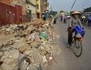 """Con đường khiến người dân Hà Nội """"khiếp sợ"""": Vừa tắc vừa ngập trong rác thải"""