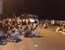 Chặn quốc lộ khiến ách tắc giao thông, 15 bị cáo lãnh án