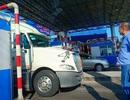 Tài xế phản đối trạm BOT T2, chặn lối lên cầu Vàm Cống