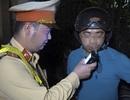 Giả câm, bỏ phương tiện để chống đối kiểm tra nồng độ cồn ở Hà Nội