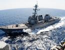 Mỹ điều 2 tàu chiến đi qua eo biển Đài Loan giữa căng thẳng với Trung Quốc
