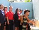 Bàn giao hệ thống nước sạch cho học sinh đồng bào dân tộc thiểu số ở Tây Nguyên