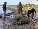 Ra quân giải tỏa nuôi thủy sản trái phép trên danh thắng Quốc gia đầm Ô Loan!