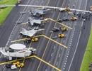 Máy bay chiến đấu Đài Loan tập trận trên cao tốc