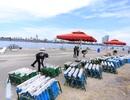Cận cảnh trận địa pháo hoa bên bờ sông Hàn