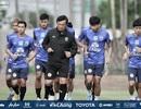 Đội tuyển Thái Lan tập luyện miệt mài, sẵn sàng đối đầu với tuyển Việt Nam