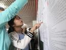 Sáng nay, thí sinh Hà Nội làm thủ tục dự thi tuyển sinh lớp 10