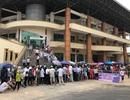 Hàng trăm CĐV xếp hàng chờ mua vé xem U23 Việt Nam gặp Myanmar