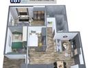 Căn hộ 3 phòng ngủ tại Eurowindow River Park Cầu Đông Trù - Giá chỉ 1,5 tỷ đồng