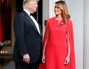 Bà Trump mặc váy hơn 7.000 USD dự tiệc ở Anh