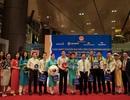 Chuyến bay quốc tế đầu tiên của Vietnam Airlines đến Cảng Hàng không Vân Đồn