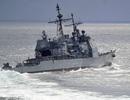 """Moscow cáo buộc tàu chiến Mỹ """"cắt mặt"""" nguy hiểm tàu Nga ở Hoa Đông"""