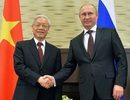 Tổng Bí thư Nguyễn Phú Trọng gửi điện mừng tới Tổng thống Nga Putin