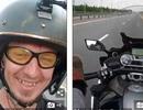Dùng chân lái xe với tốc độ 130 km/giờ, tay nhắn tin, thanh niên gặp cái kết thảm khốc