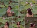 """Tranh cãi xung quanh bộ ảnh khỏa thân giữa hồ sen và bài hát """"Độ ta không độ nàng"""""""
