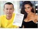 """""""Trùm Hoa hậu"""" Phúc Nguyễn tung hợp đồng chứng minh Mâu Thuỷ bịa chuyện, tiết lộ sốc về Phương Khánh"""