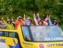 """Hạ Long có thêm """"city tour"""" bằng xe buýt 2 tầng"""