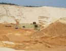 Sụt cát tại mỏ titan, 1 người mất tích, 4 người bị thương