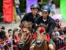 """Hàng ngàn du khách đổ về Sa Pa tham dự lễ hội đua ngựa """"Vó ngựa trên mây"""""""