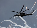 """Video """"Thợ săn đêm"""" Mi-28 Nga phóng tên lửa bí mật"""