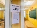 Đình chỉ thi với thí sinh sử dụng điện thoại trong thời gian ngồi chờ ở bài thi tổ hợp