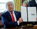 Tổng thống Trump trừng phạt lãnh tụ tối cao Iran