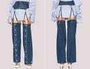 23 món mẫu thời trang jeans lạ lùng phải thấy mới dám... tin là có thật