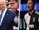 C.Ronaldo bất ngờ được Tổng thống Donald Trump khen ngợi