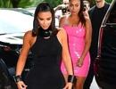 "Kim Kardashian mặc váy ôm sát khoe dáng ""đồng hồ cát"""