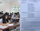 """Vụ """"lọt đề"""" ở Phú Thọ: Một trong hai người giải hộ bài là nữ sinh sư phạm"""