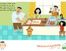 """Bộ tranh """"Nhà là nơi vỗ về yêu thương"""": Món quà đầy ý nghĩa cho ngày gia đình Việt"""