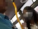 """Hà Nội: Lại bắt quả tang nam thanh niên """"tự sướng"""" gần 2 thiếu nữ trên xe buýt"""