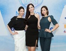 """Nhan sắc """"bất phân thắng bại"""" của 3 Hoa hậu đăng quang cách nhau hơn 10 năm"""